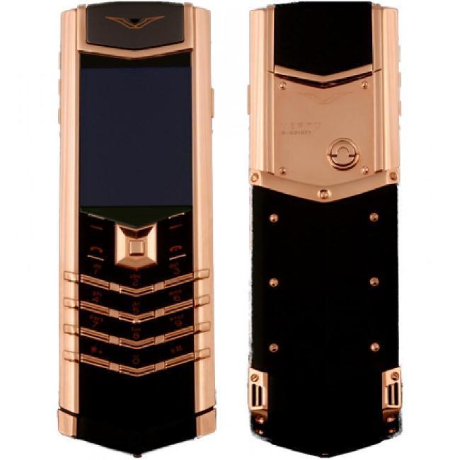 Рисунок 1. Vertu Signature S Design, розовое золото.