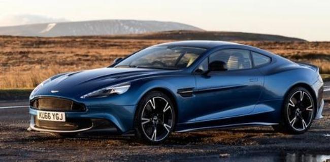 Рисунок 2. Aston Martin Vanquish S.