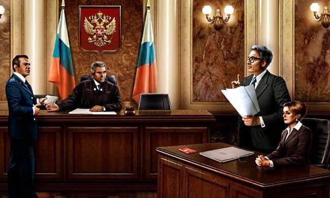 Рисунок 3. Адвокат в суде