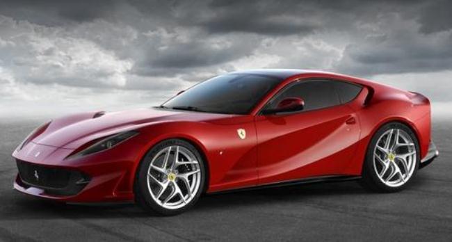 Рисунок 5. Ferrari 812 Superfast.
