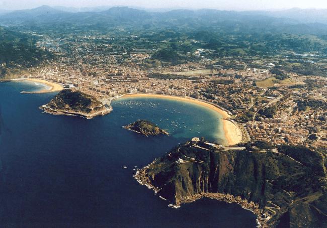 Рисунок 5. Вид на город Сан-Себастьян