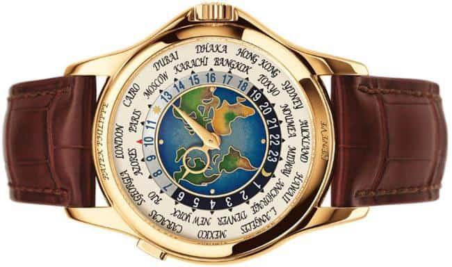 Рисунок 8. Patek Philippe Platinum World Time.