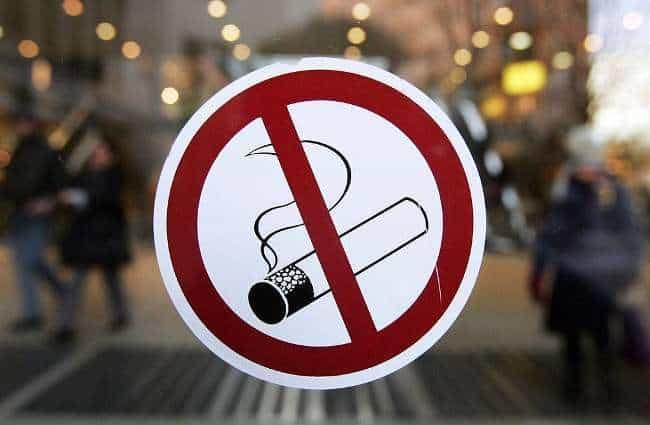 Штраф за курение статья