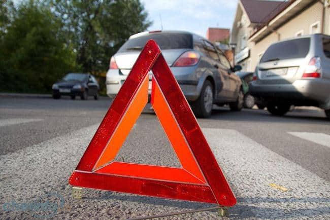 Рис 7. Установите на месте ТП аварийный знак