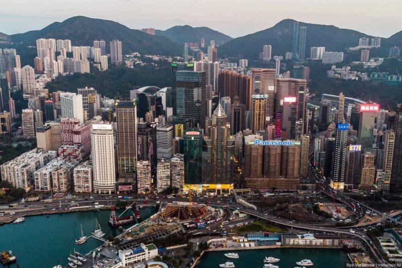 Рис. 2. Гонконг для туристов и работы