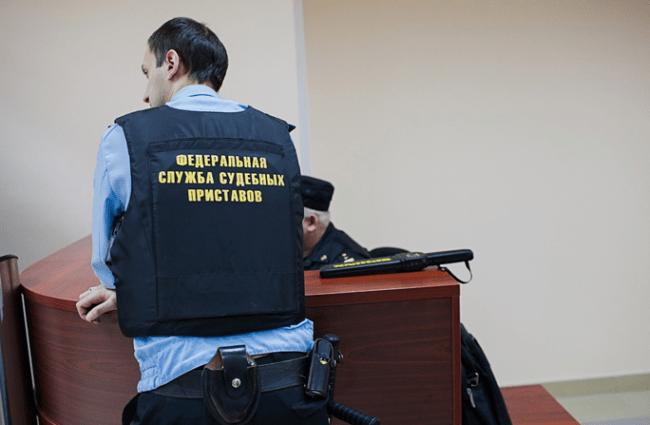 Рис. 2. Сотрудники ФССП обеспечивают работу судов
