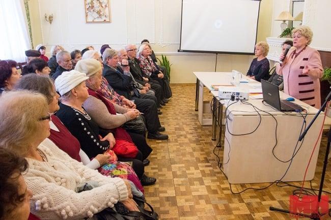 Рис. 2. В Минском городском клубе ветеранов «Маэстро»
