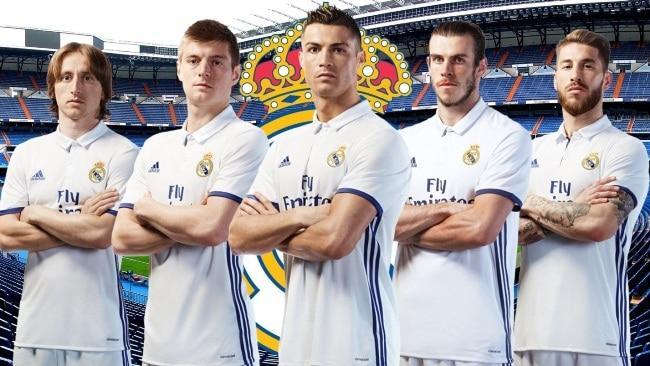 Рис. 4. Трехкратный чемпион «Реал Мадрид»