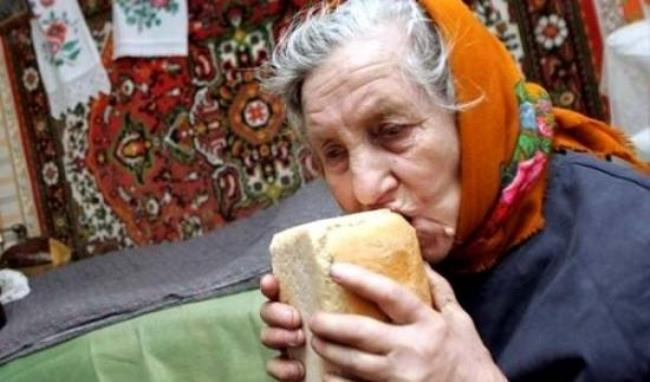 Рис. 4. Украинские пенсионеры вынуждены выживать на 1,7 $ в день