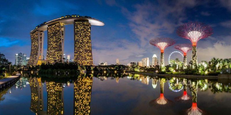 Рис. 5. Сингапур – высокотехнологический мегаполис