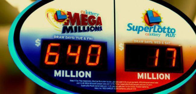 Рис. 8. Суперприз от Mega Millions