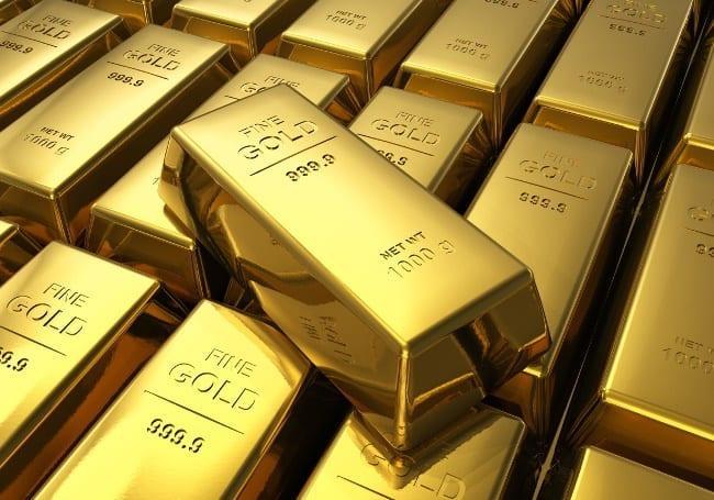 Рисунок 2. Золотые слитки – выгодная форма инвестирования