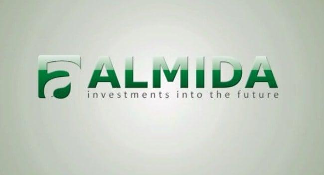 Рисунок 4. Логотип компании «Алмида»