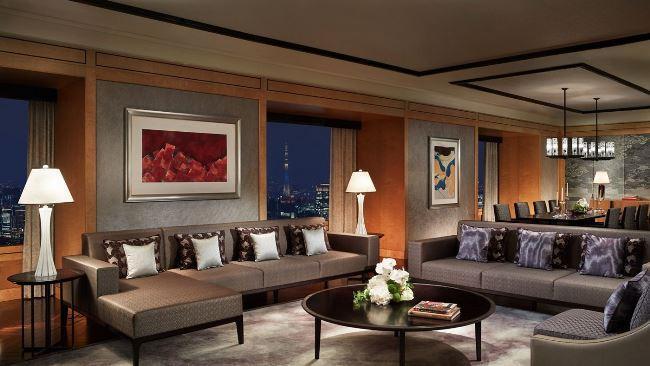 Рисунок 4. The Ritz-Carlton suite.