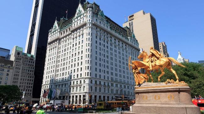 Рисунок 5. Plaza Hotel Нью-Йорк.