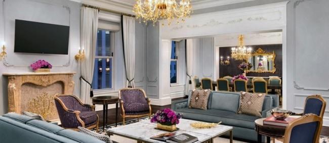 Рисунок 6. Самый дорогой номер в Plaza - Royal Plaza Suite.
