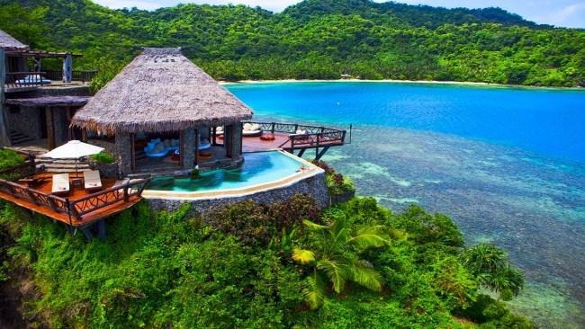 Рисунок 7. Laucala Island Resort.