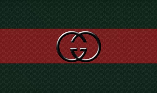 Фото 10. Лого и фирменные цвета Гуччи.