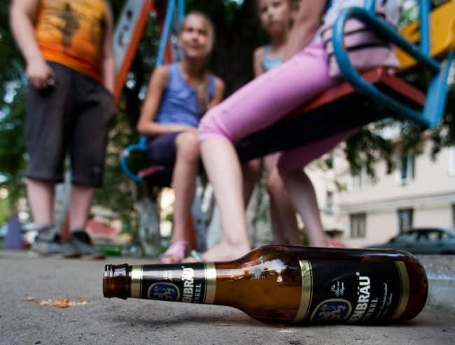 Штраф за распитие пива на улице