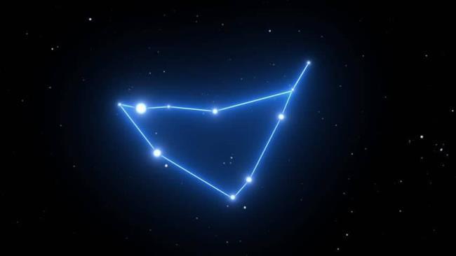 Рис. 12. Созвездие Козерога