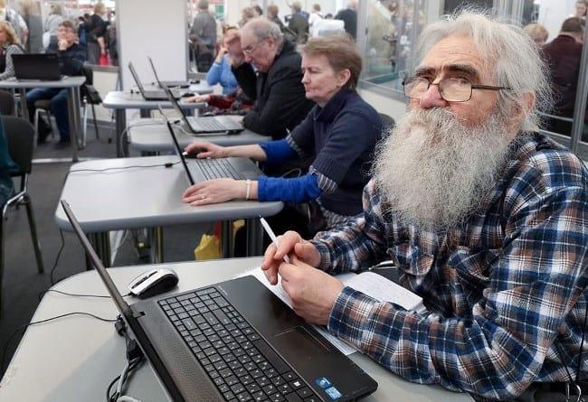 Рис. 4. Компьютерные курсы для пенсионеров – возможность овладеть новыми навыками