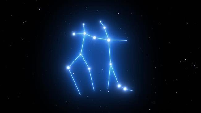 Рис. 5. Созвездие Близнецов