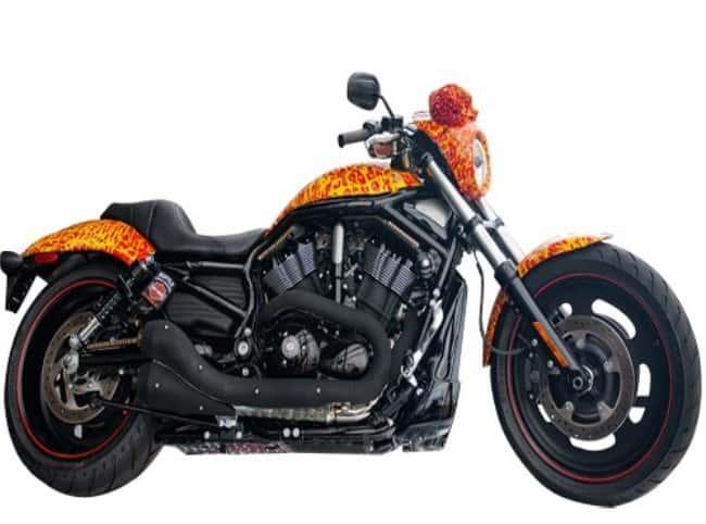 Рис.4 Harley Davidson Cosmic Starship