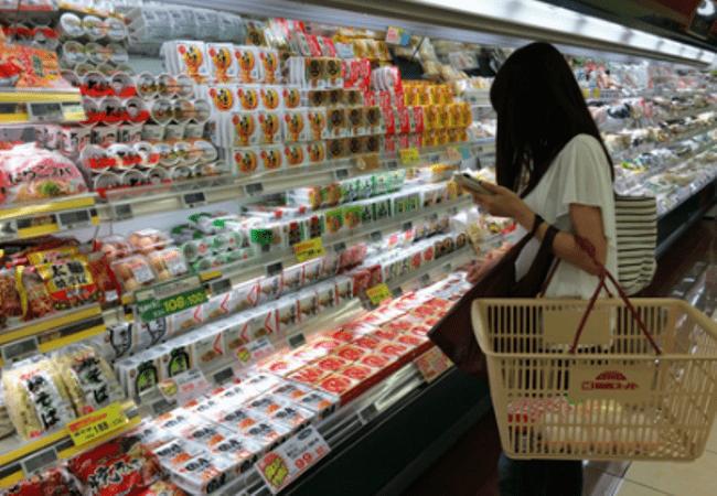 Рисунок 1. По российским меркам продукты стоят очень дорого