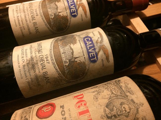Рисунок 3. Chаteau Cheval Blanc 1947
