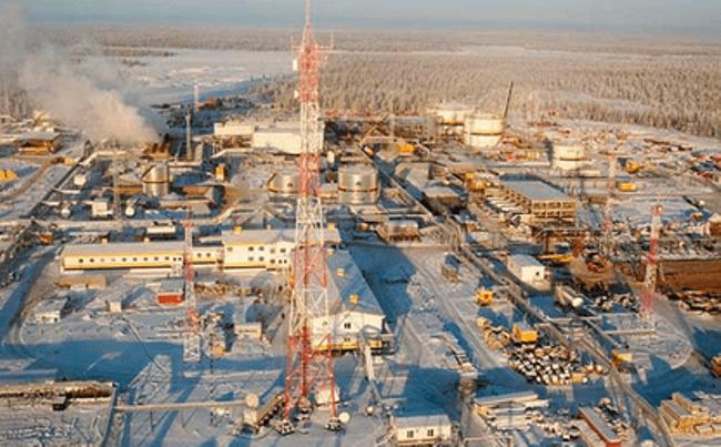 Рисунок 3. Ванкорское нефтяное месторождение