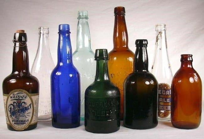 Рисунок 4. Стеклянная бутылка — самая хорошая тара для пенного напитка