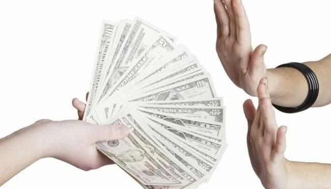 Рисунок 8. Берегитесь обещаний легких денег!