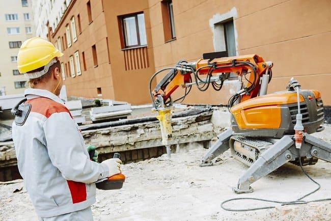 Рис 4.Скоро строительная техника будет делать работы сама – без участия рабочих.
