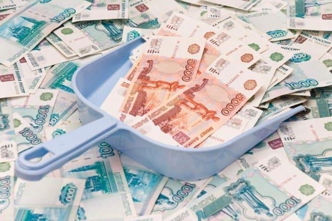Рис. 2. Ежемесячно с зарплаты 100000 руб. работодателем отчисляется 22000 руб. в адрес ПФР