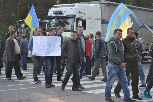 Рис. 3. Задолженность по зарплате в Украине приближается к 3 млрд грн. Из-за невыплат периодически возникают забастовки