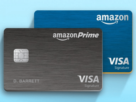 Рис. 4. Amazon Credit Cards