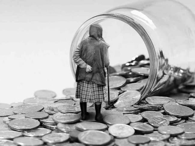 Рис. 4. Безработным и тунеядцам придется существовать в старости на личные сбережения или пособие