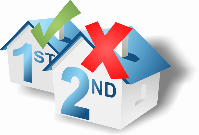 Рис. 7. Mortgage выдается только при покупке первого жилья
