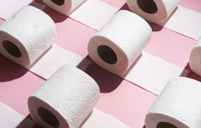 Рисунок 1. Тестирование туалетной бумаги