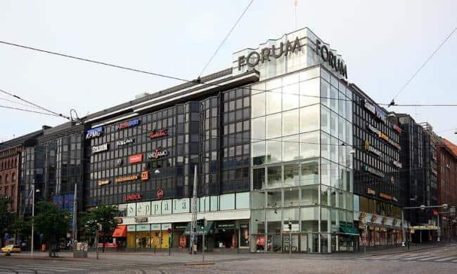 Рисунок 1. Торгово-офисное здание в центре Хельсинки