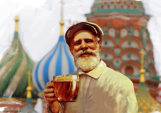 Рисунок 2. Квас был и остается самым популярным напитком в жару.