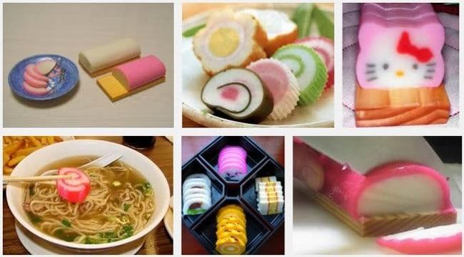 Рисунок 2. Японцы используют сурими для приготовления различных блюд.