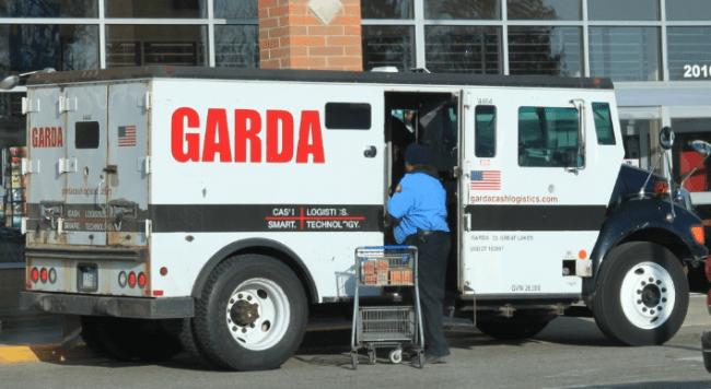 Рисунок 4. Инкассаторский автомобиль компании «Garda», США