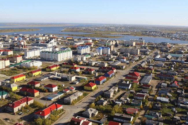 Рисунок 4. Лидер рейтинга покупательной способности населения — Ненецкий АО со столицей в Нарьян-Маре