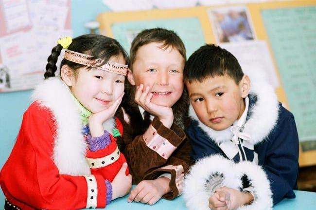 Рисунок 6. Дети Якутии