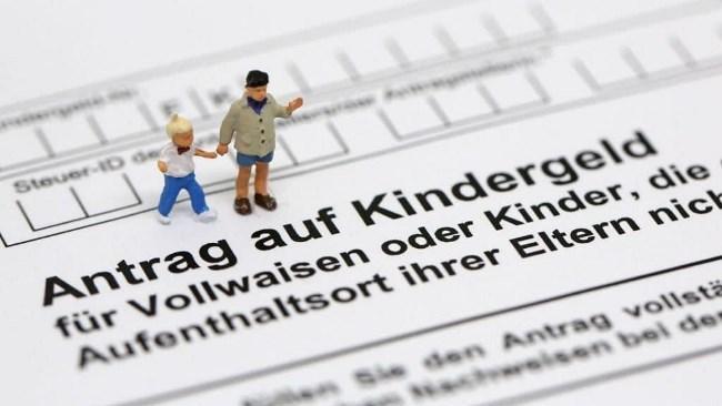 Рисунок 8. Kindergeld — детские деньги в Германии