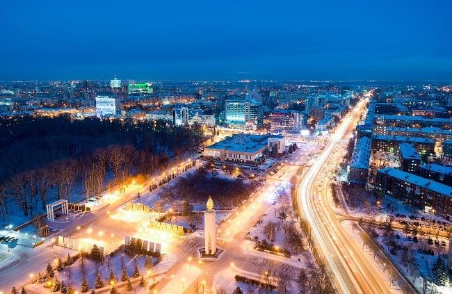 Рис 10. Тюмень признана лучшим городом для проживания. Средний заработок здесь равен 33,5 тыс. руб.