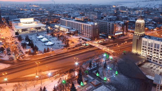 Рис 3. В Красноярске средний заработок составил 40 тыс. руб.