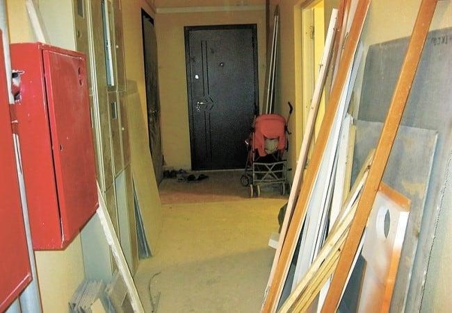 Соседи захламили общий коридор что делать