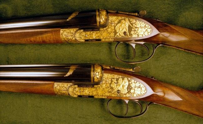 Рис. 2 Коллекционные ружья Purdey & Sons